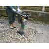 Trench Whacker 1' Square Plate Petrol
